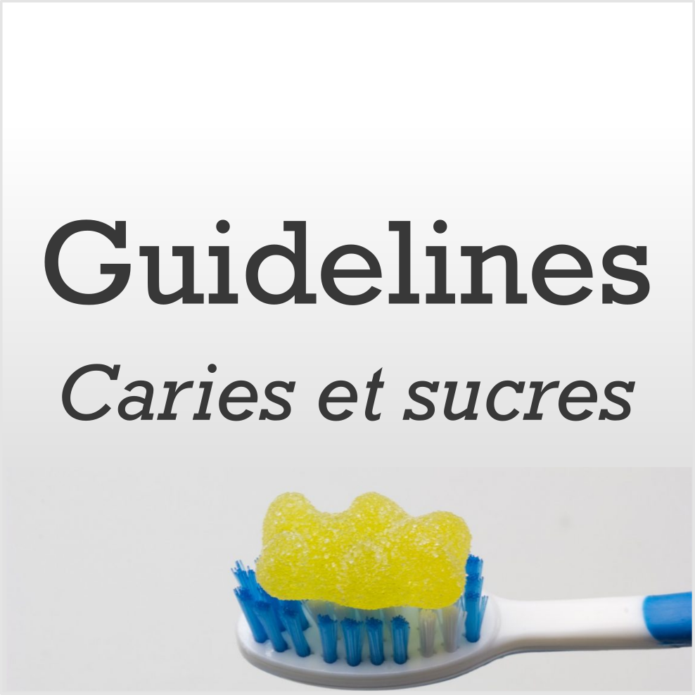 Vignette article, Caries et sucres
